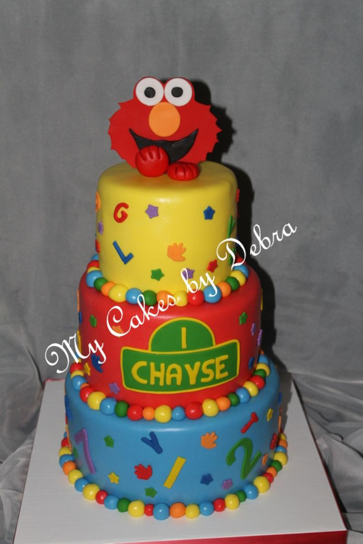 Elmo Birthday Cake Pics