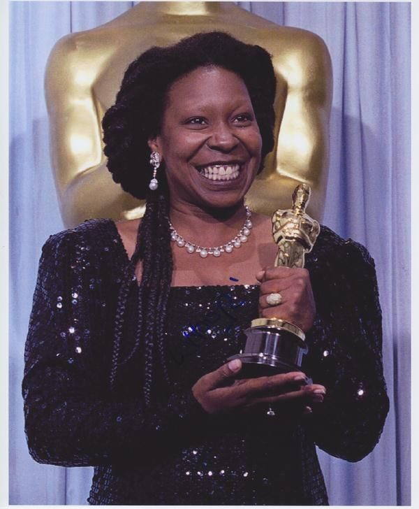 In 1990, Whoopie Goldberg, actress, comedienne and activist, became the first Black female to win the Academy Award for Best Supporting Actress in nearly 50 years.