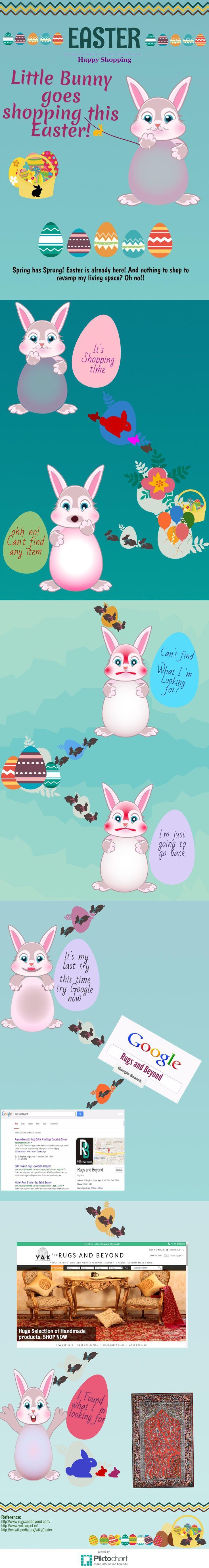 On this Holy Thursday, Little bunny goes shopping to celebrate #Easter.#EasterEggs #Shopping #Homedecor