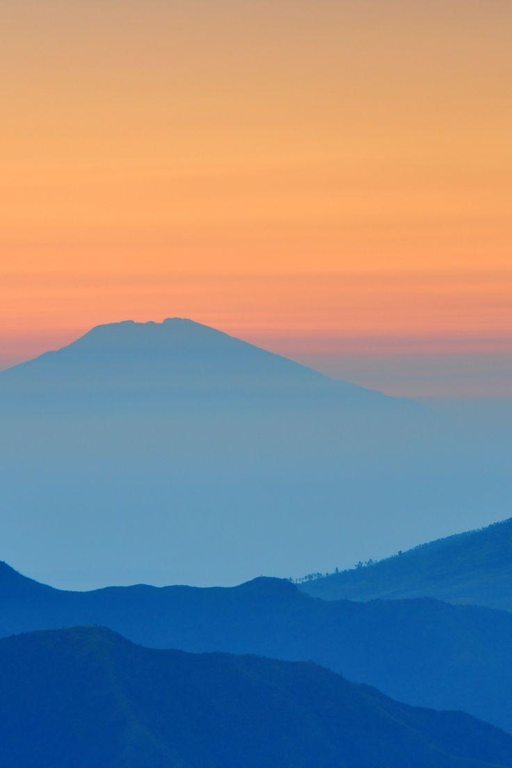 Free stock photo of landscape, sunset, blue, sunrise