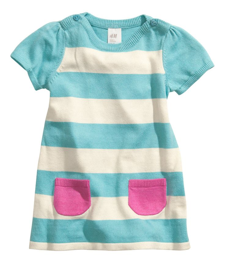 Pair with pink leggings (dotted or solid), makes a cute color-block outfit, H US
