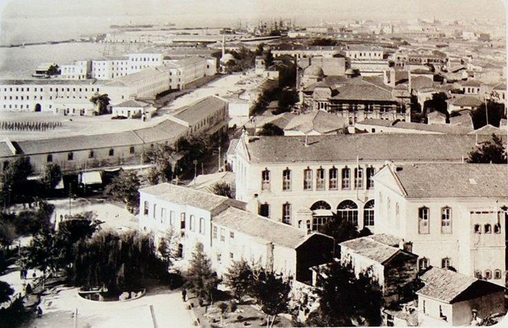 ✿ ❤ İzmir eski resimleri, Konak. http://yengen.blogspot.com.tr/p/izmir-resimleri.html