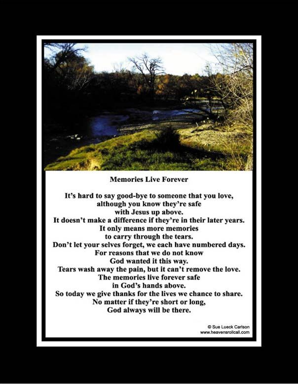 comfort poems death | CHRISTIAN POEMS ON THE DEATH OF A LOVED ONE