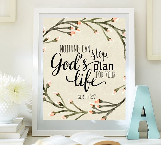 Hey, I found this really awesome Etsy listing at https://www.etsy.com/listing/207713290/bible-verse-print-nursery-wall-art-decor