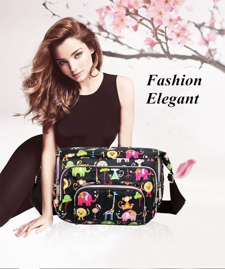 Women Hobo Bags Print Floral Sport Cross Body Shoulder Canvas Bag #Unbranded