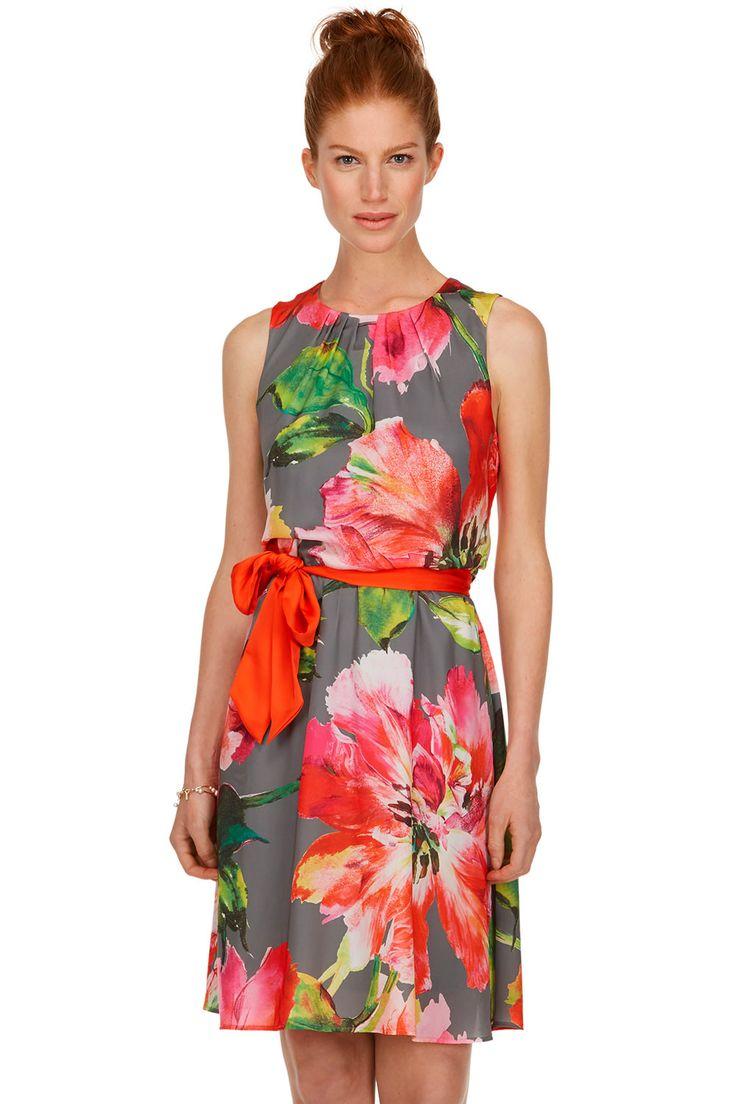 Robe � imprim� floral