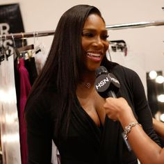 9/15/15 World #1 Serena Williams Discusses Her HSN Collection & #NYFW - Via Vogue: She's more than just a tennis champion.