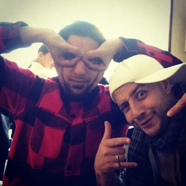 Maher Zain and his friend ^-^