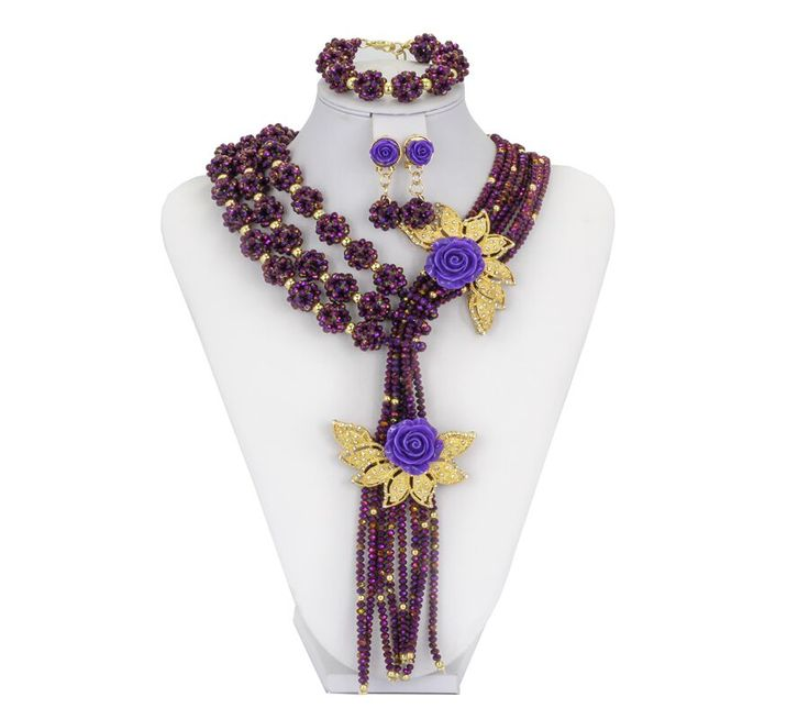 Find More Jewelry Sets Information about CZ Birthday Gift For Mommy !!! 2016 Luxury African Beads Jewelry Set,Orange Blue Purple Perlas Flower Custome Party Jewelry Set,High Quality custom rose gold jewelry,China custom chemical Suppliers, Cheap custom made fashion jewelry from YIWU  CZ Jewelry  Co. on Aliexpress.com
