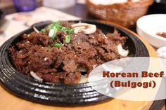 Korean Beef Bulgogi Recipe from Nourishing Traditions                                                                                                                                                                                 More