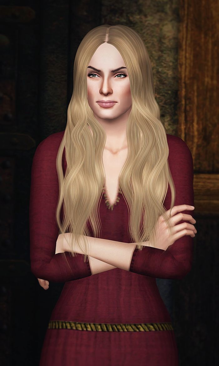 My Sims 3 Blog: Cersei Lannister / Game of Thrones by Kurasoberina