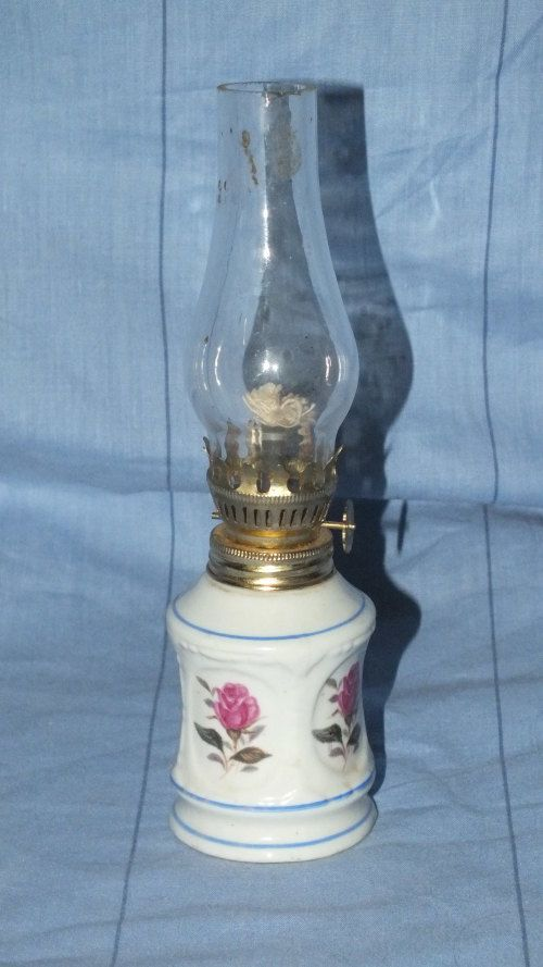 Buy Oil Lamp With Glass - Cute for R55.00
