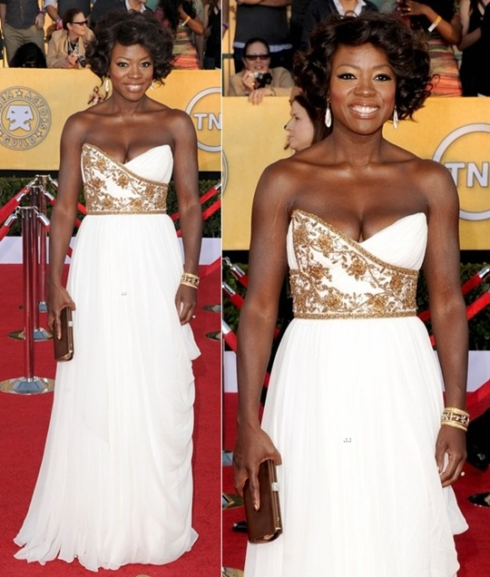 Viola's upper body is on point!