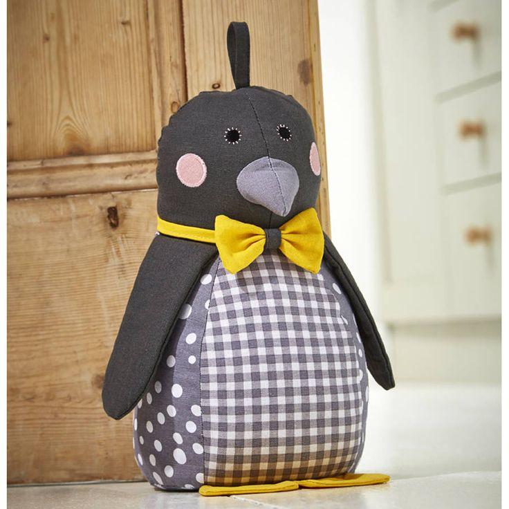 Penguin Door Stop & 144 best DOOR STOP images on Pinterest | Door stop Peso de porta ...