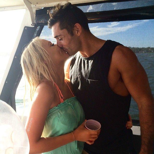 Lauren Curtis and her boyfriend