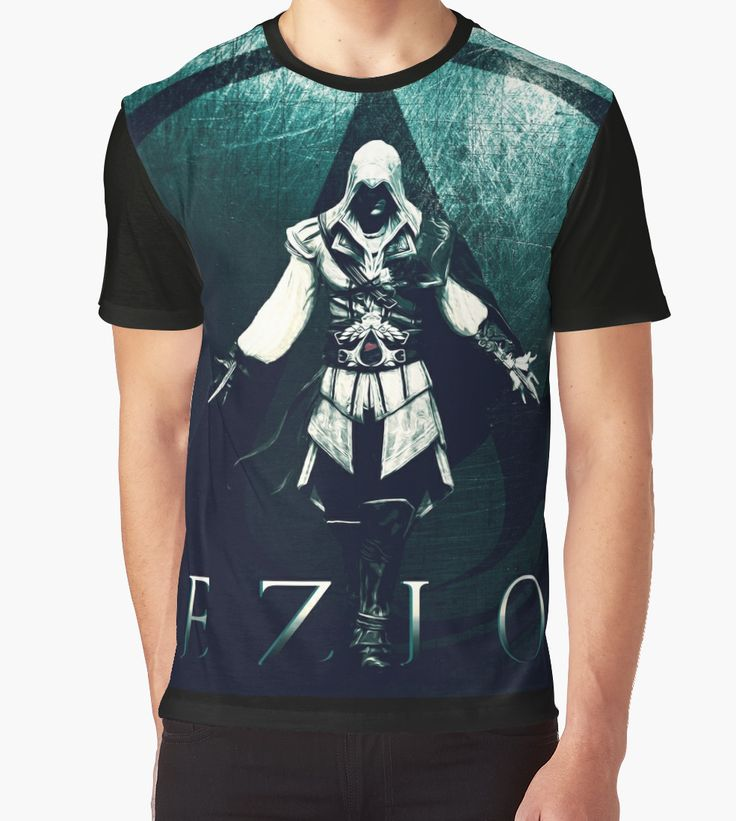 Ezio Auditore T-Shirt. #ezioauditore #tshirt #assassinscreedtshirt #assassinscreedgifts #giftsforhim #giftsforher #tshirts #gaming #sales #save #discount #gaminggifts #gamergifts #gamer #redbubble #kidstshirt #clothing