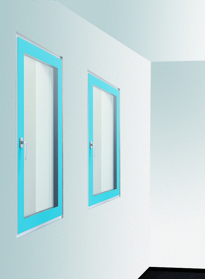 Ifin 8 2 finestre raso muro interno design invidiabile - Finestre filo muro ...