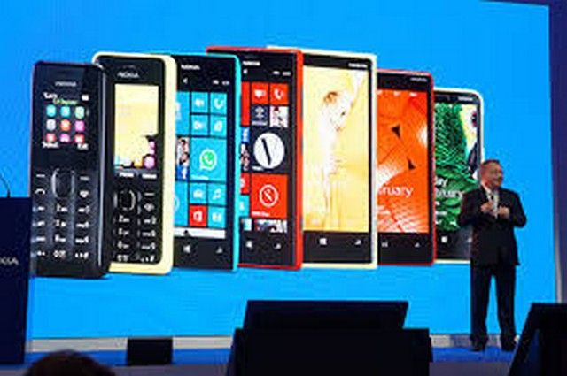 From the old generation to the newest generation of Nokia phone