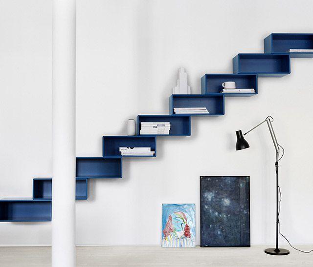 Bonne idées d'escalier rangements