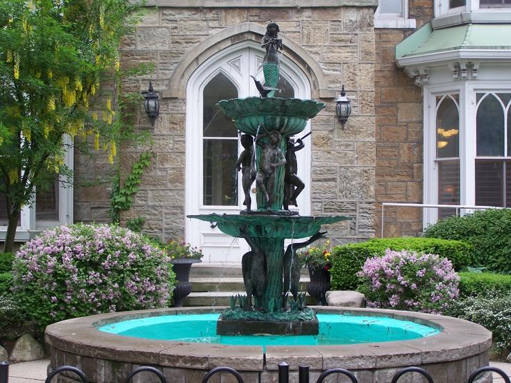 Vintage Victorian fountain Circa 1850
