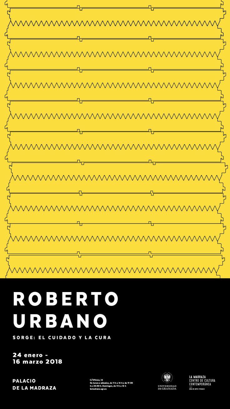 """""""La obra de #RobertoUrbano se interroga sobre la noción Heideggeriana de """"Sorge"""", entendida como un tipo de introspección interior, una herramienta para cuidar de sí mismo, curarse, provocando un estado de alerta por la naturaleza del material que puede ser hiriente"""". #Sorge #ExposicionesUGR"""