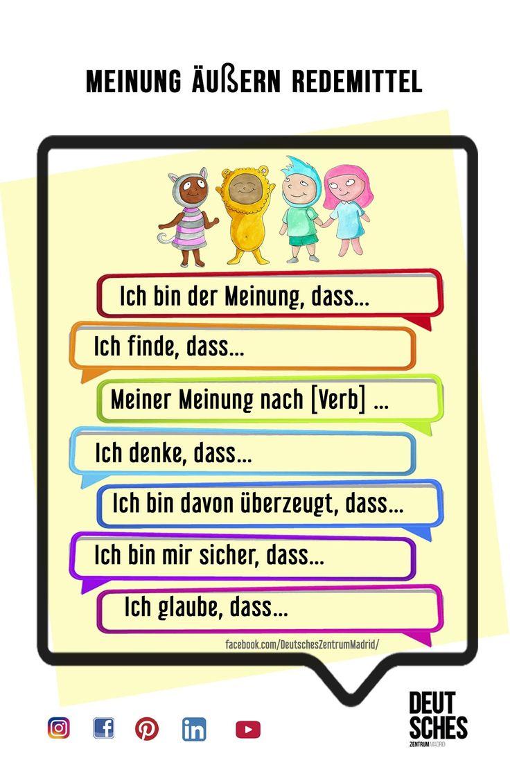 Deutsch Wortschatz Grammatik German Alemán DAF Vocabulario