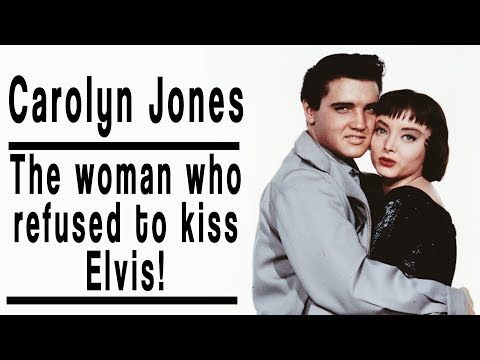 Why did Carolyn Jones refuse to kiss Elvis Presley? - YouTube