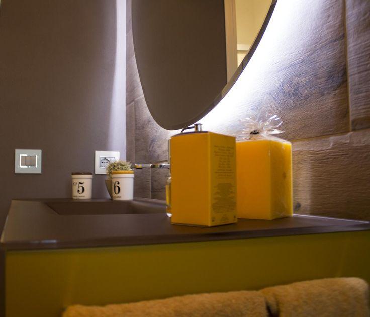 ... Bagno marrone su Pinterest  Marrone da bagno e Arredo bagno marrone