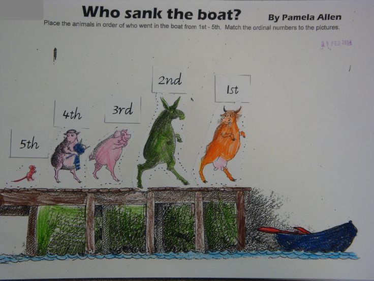 who sank the boat activities - Google Search