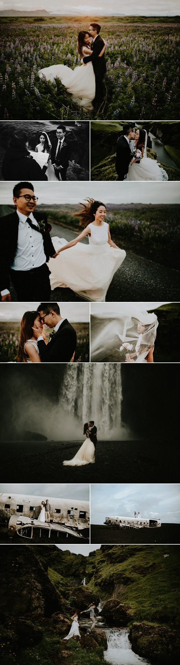 We are still obsessed with this idyllic Iceland elopement| photos by Lukas Piatek