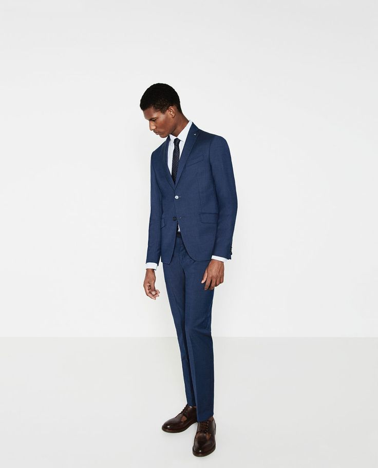 Image 1 of INK COLOURED SUIT from Zara