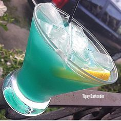 PURIFICATION 1 oz (30ml) EverClear 1 oz (30ml) Vodka 1 oz (30ml) Blue Curacao 3 oz (90ml) Pineapple Juice 2 oz (60ml) Orange Juice Shake all Ingredients