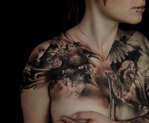 tattoo kunst mit florian karg ausgefallene tattoos m nner tattoos und ausfallen. Black Bedroom Furniture Sets. Home Design Ideas