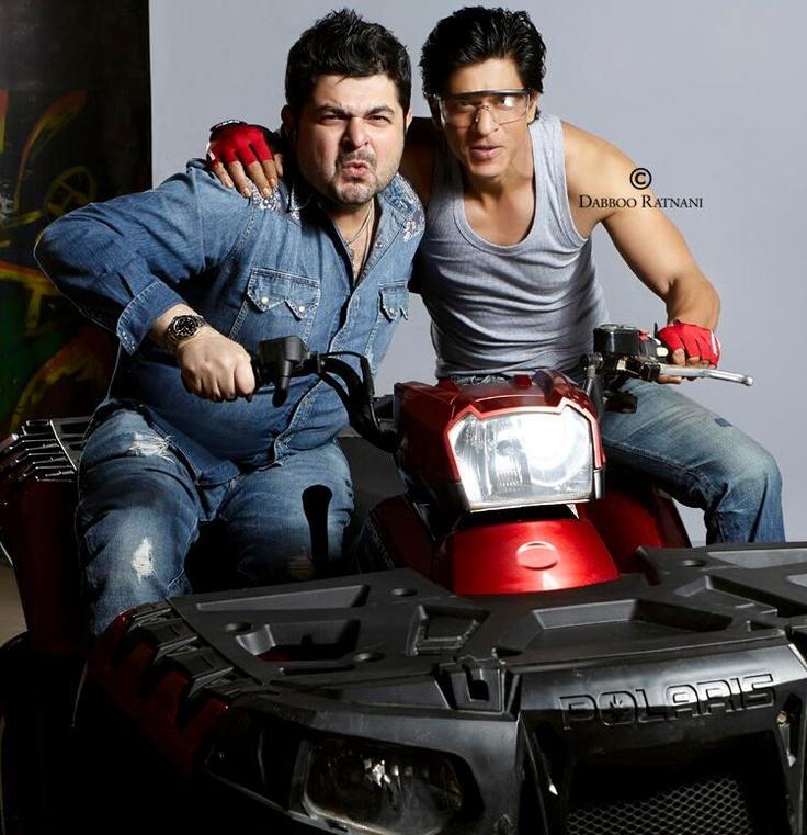 Dabboo Ratnani and Shahrukh