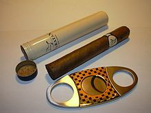 A Semi Airtight Cigar Storage Tube And A Double Guillotine Style Cutter  From Wikipedia