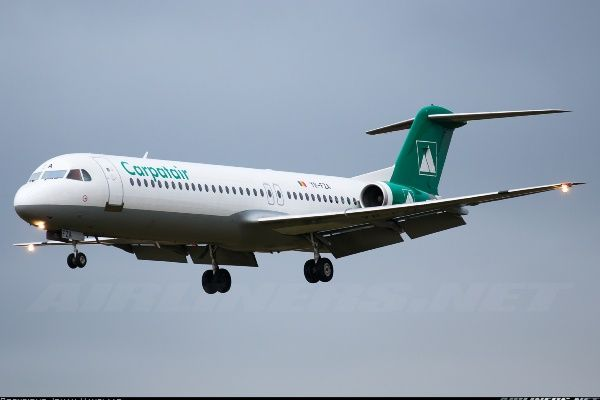 """Romanian airlines: CARPATAIR"" 