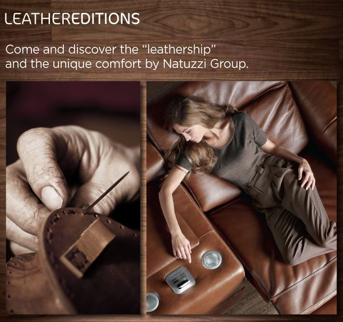 Come And Discover The Leathership And The Unique Comfort By Natuzzi Group Maxim Pinterest