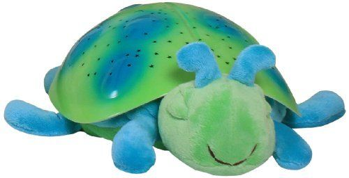 Cloud B Twilight Ladybug - Green by Cloud B. $29.21. Cloud B Twilight Ladybug - Green Float away in peaceful slumber under a beautiful star-filled sky. Twilight Ladybug makes bedtime fun and helps ease children's fear of the dark by projecting a starry night sky onto bedroom ceiling and walls. Stars and Ladybug shell illuminate in three magical colors to help children sleep easier. The perfect sleep companion for children 3 and up!