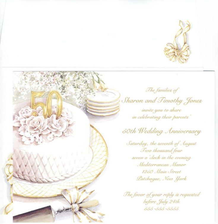 50 Wedding Anniversary Cards
