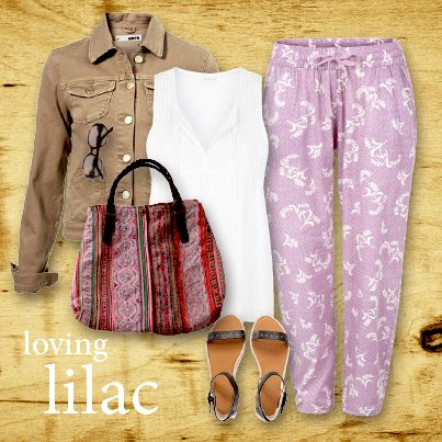 Layer our soft Manjari lounge pants with Foundlings' Bodha cotton chemise, add a jacket & one of our Vintage Hmong handbags - loving the lilac.. http://www.foundling.com.au/collections/wardrobe-essentials/products/manjari-lounge-pant