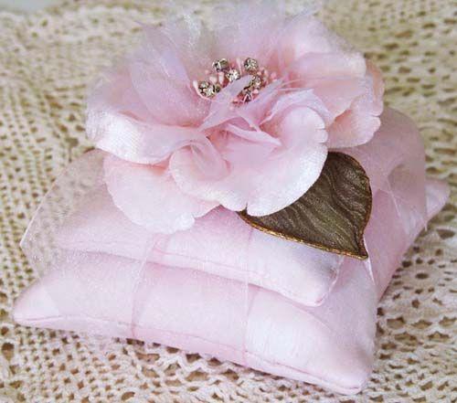 pink pillow sachet
