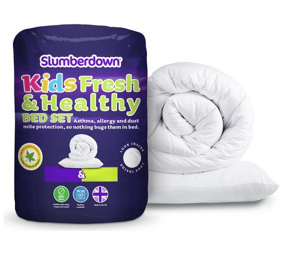 Buy Slumberdown Fresh and Healthy 4 Tog Toddler Set at Argos.co.uk, visit Argos.co.uk to shop online for Nursery duvets and pillows, Bedding, pillows and duvets, Sleep, Baby and nursery