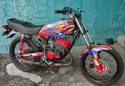 Foto Modifikasi Motor RX King
