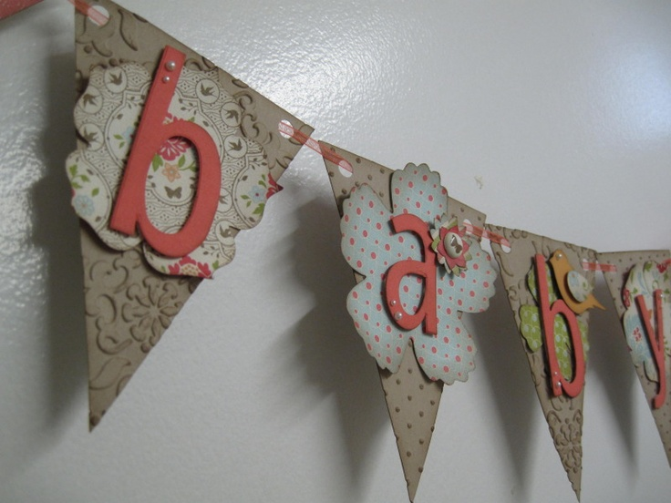 Stampin' Up! SU Baby Banner Pennant Die