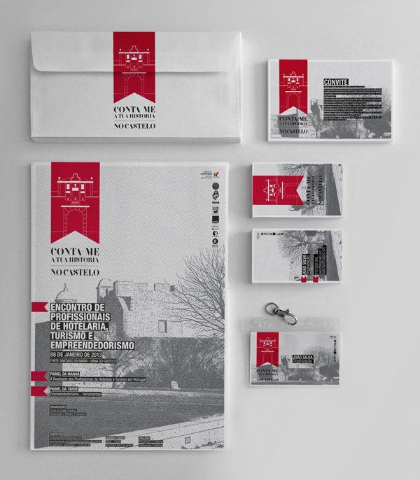 Conta-me a tua história no Castelo - Logo and Stationery Design by Boutik Marketing