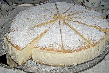 Käse - Sahnetorte (Rezept mit Bild) von garfield   Chefkoch.de