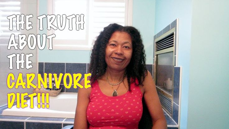 The truth about the CARNIVORE DIET!