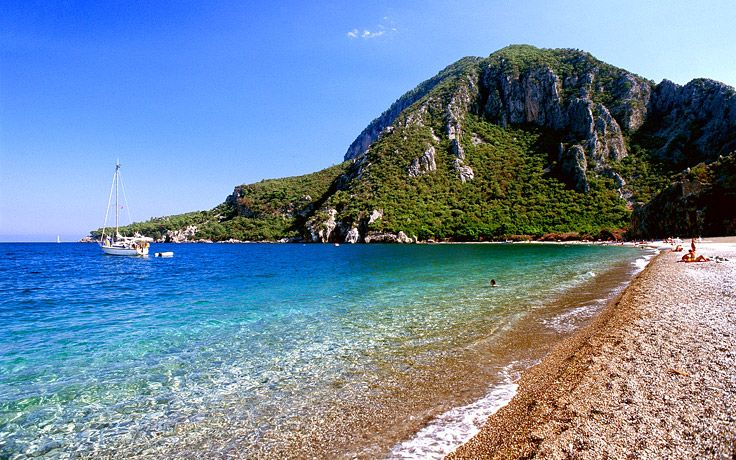 Beach in Çirali, Turkey #Cirali #Turkey #travel