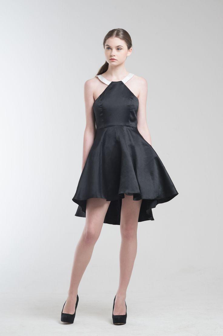 Kayla Dress in Black from Jolie Clothing  #JolieClothing www.jolie-clothing.com  #Fashion #designer #jolie #Charity #foundation #World #vision #indonesia  #online #shop #stefanitan #fannytjandra #blogger