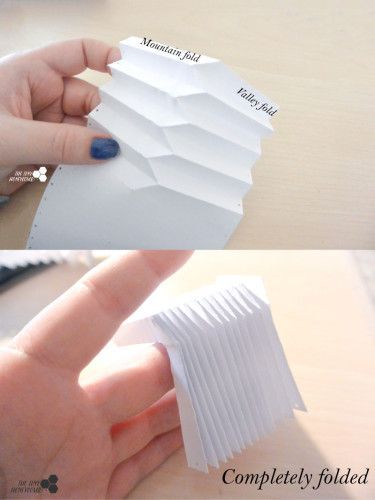 How to fold an origami ball